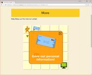 Moby's Maze Internet Safety 3