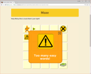 Moby's Maze Choosing a Book 3