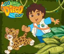 Go Diego Go cover