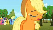 Applejack crying