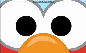 Elmo's eyes