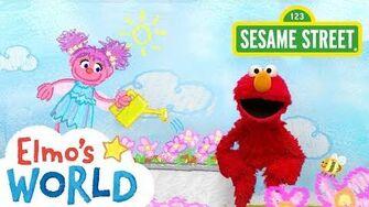 Sesame Street Garden Elmo's World