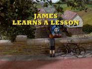 JamesLearnsaLesson2012DVDtitlecard