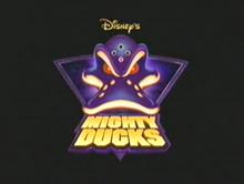 Mighty ducks tv series logo