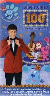 Blues Clues 100th Episode Celebration VHS