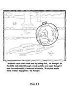 Grover's Story Circle Printable 3