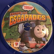 Engines and Escapades DVD Discc