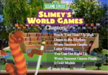 Slimey the Worm DVD Chapters3