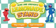 Elmo and Grover's Lemonade Stand 1