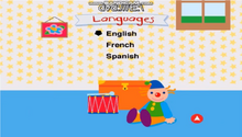 Baby Newton DVD Menu Languages2