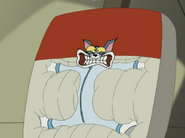 Tom and Jerry Blast Off to Mars FISHFACE