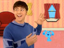 ELEPHANT - ELEPHANT TRUMPETING, THREE TIMES, ANIMAL, Blue's Clues 4