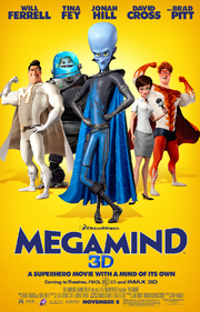 Megamind posters