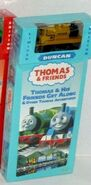 ThomasAndHisFriendsGetAlongVHSWithWoodenRailwayDuncan