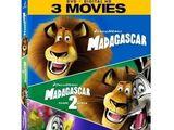 Madagascar DVD + Digital HD + 3 Movies