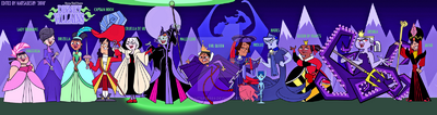 Tdi disney villains by naitsabes89-d2py968
