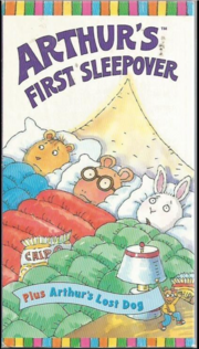 Arthur's First Sleepover VHS Cover