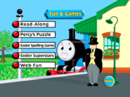 Percy'sChocolateCrunchandOtherThomasAdventuresfunandgamesmenu