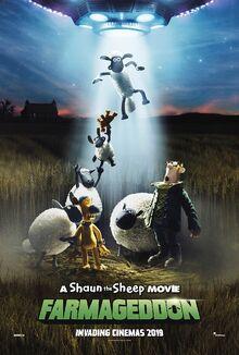 A Shaun the Sheep Movie Farmageddon Poster