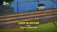 TigerTroubleGermanTitleCard
