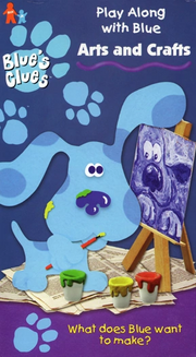 Blue's Clues Arts and Crafts VHS Cover