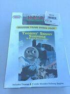 ThomasSnowySurpriseOtherAdventuresDVDwithWoodenRailwayHolidayCaboose
