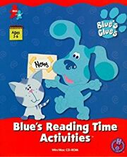 Blue's Reading Time Activities Cover