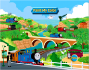 Thomas,PercyandtheDragonandotherstoriesPaintmyColorgame2
