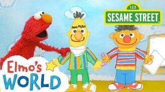 Sesame Street Elmo's World Sharing FULL Segment