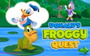 Mickey Mouse Clubhouse Donald's Froggy Quest Title