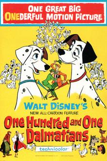 101 Dalmatians 1961 Poster