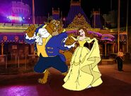 Belle and Beast goes to Walt Disney World Pictures 05