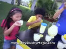 Slushy Magic Commercial Sound Ideas, CHILDREN, CROWD - SMALL STUDIO AUDIENCE OF CHILDREN BIG CHEER, CHEERING 01