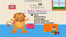 Baby Newton DVD Menu