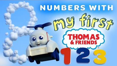 Learn Numbers with My First Thomas Railways Playing Around with Thomas and Friends