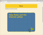 Moby's Maze Internet Safety 1