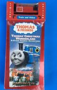 Thomas'ChristmasWonderlandVHSWithWoodenSkarloey
