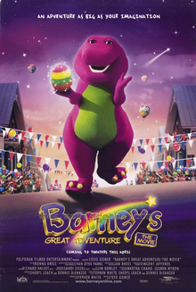 Barney's Great Adventure Poster-0