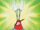 Mr. Krabs with Exploding Eyes