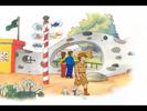 Caillou Sound Ideas, CHIMPANZEE - EXCITED CALL, ANIMAL, MONKEY, APE 02
