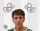 Blue's Clues Hollywoodedge, Bird Duck Quacks Clos PE020501 (10)