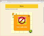 Moby's Maze Internet Safety 2