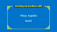GettingUpGordon'sHillMenu