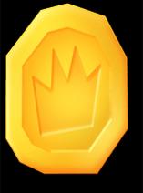 Medal large gold