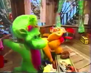 Barney & Friends If the Shoe Fits... Sound Ideas, ZIP, CARTOON - QUICK WHISTLE ZIP OUT