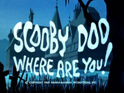 Scooby Doo Where Are You Title