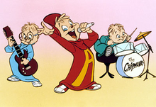 Alvin and the chipmunks cartoon series cover