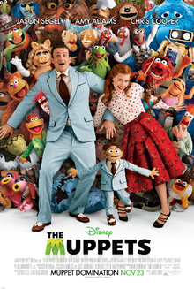 The Muppets 2011 Poster
