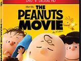 The Peanuts Movie 2016 DVD