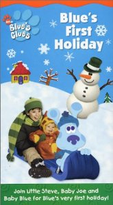Blue's Clues Blue's First Holiday VHS